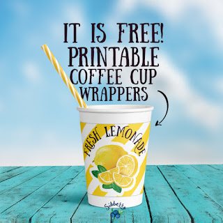 lemonade cup wrapper