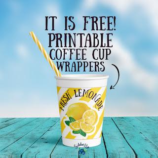 lemonade cup wrapper