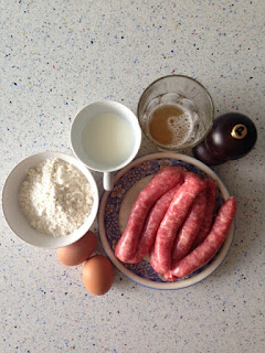 Ingredientes toad in the hole