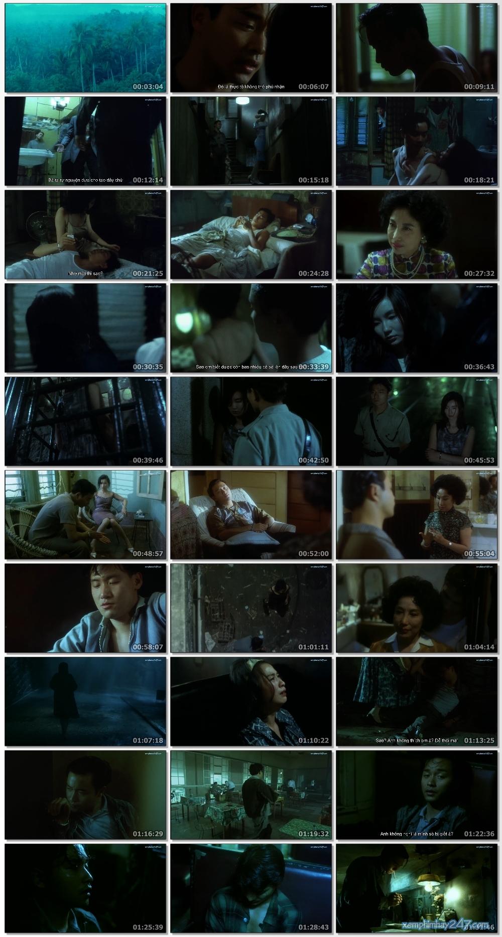 http://xemphimhay247.com - Xem phim hay 247 - A Phi Chính Truyện (1990) - Days Of Being Wild (1990)