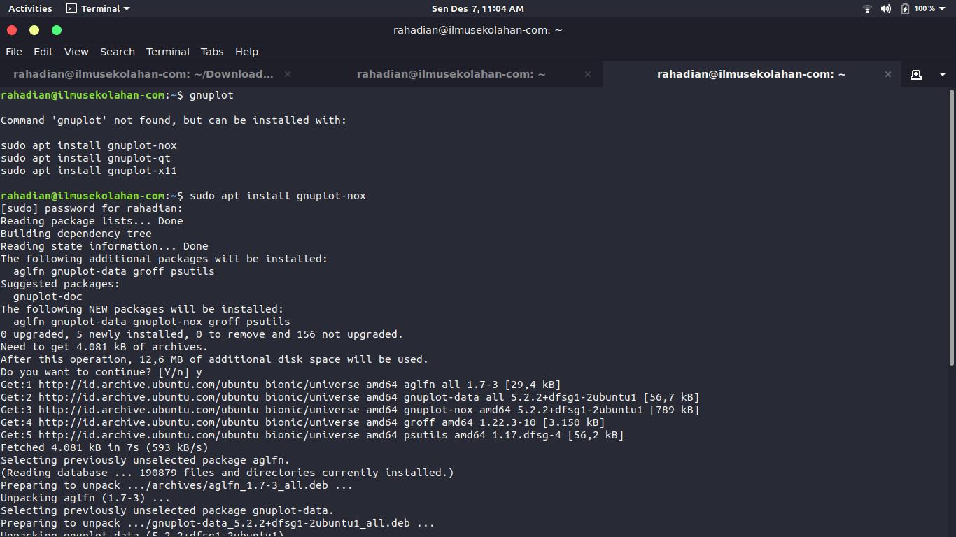 Tutorial cara menggunakan Iperf di Mininet