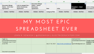 My Most Epic Spreadsheet Ever