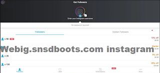 Webig.snsdboots.com instagram followers gratis