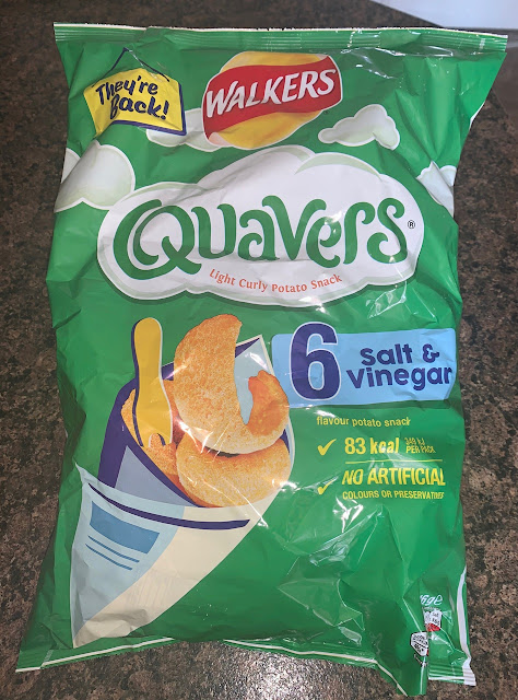 They're Back! Quavers - Salt and Vinegar