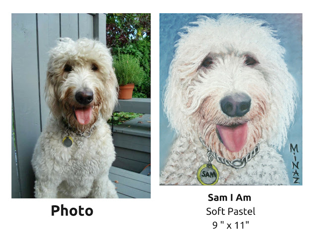 Pet Portraits: Sam I Am by Minaz Jantz