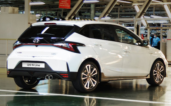 Hyundai i20 N e i20 N-Line têm produção iniciada na Europa