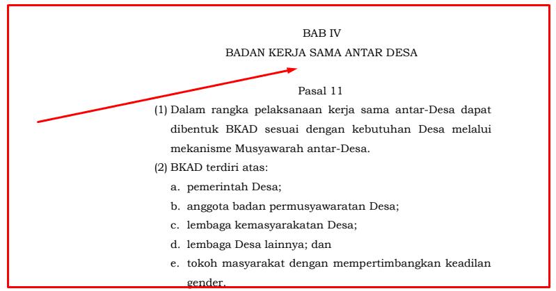 Tata Cara Pembentukan Badan Kerja Sama Antar Desa Dalam Permendagri  Tata Cara Pembentukan Badan Kerja Sama Antar Desa Dalam Permendagri 96/2007