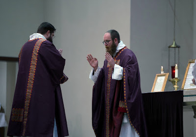 Purple vestments