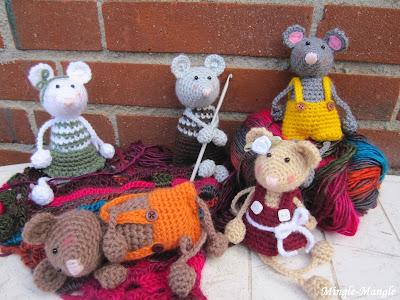 Mingle Mangle Crochet Herfst Muisjes