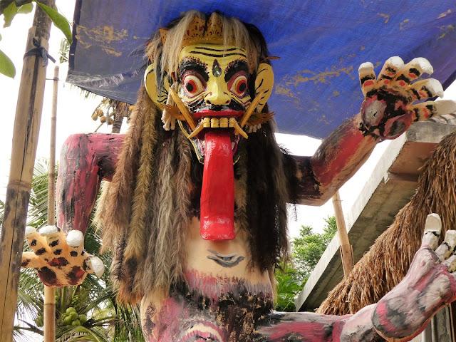 Bali - hindu nyårsfirande