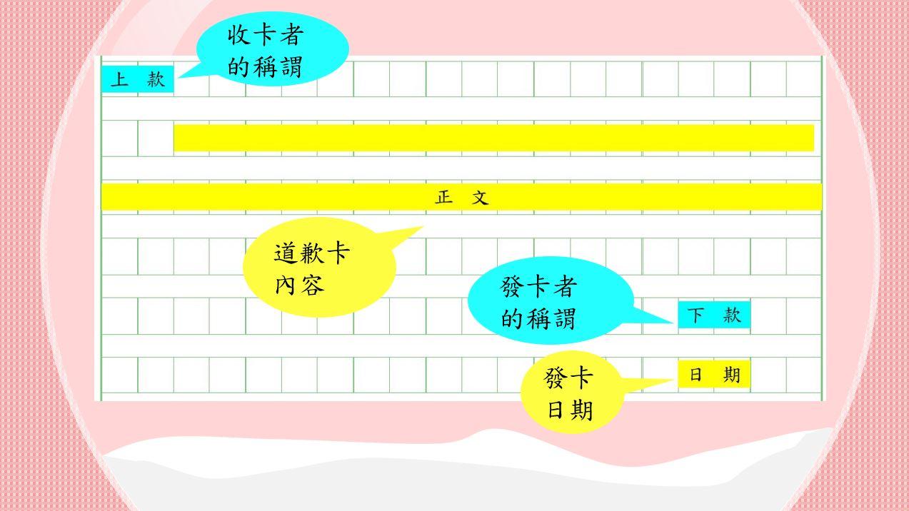 香港小學中文寫作短片系列:我們來學寫道歉卡吧!|寫作教室|尤莉姐姐的反轉學堂