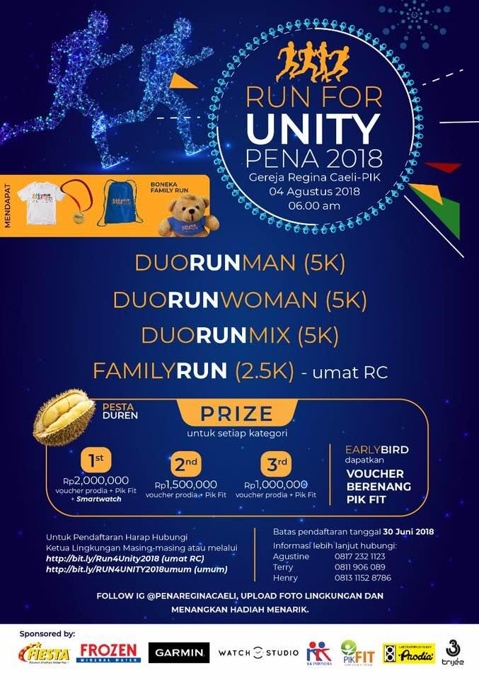 Run For Unity - Pena • 2018