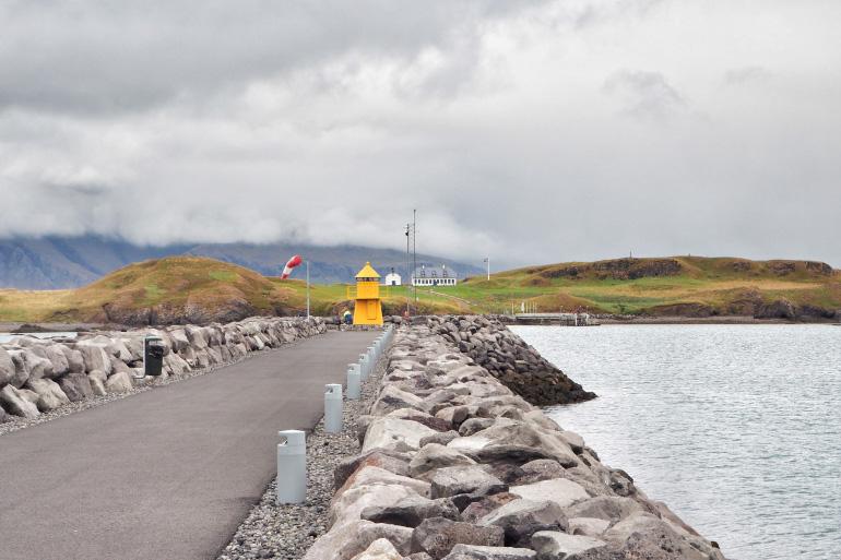 Visite de l'île de Viðey à Reykjavik