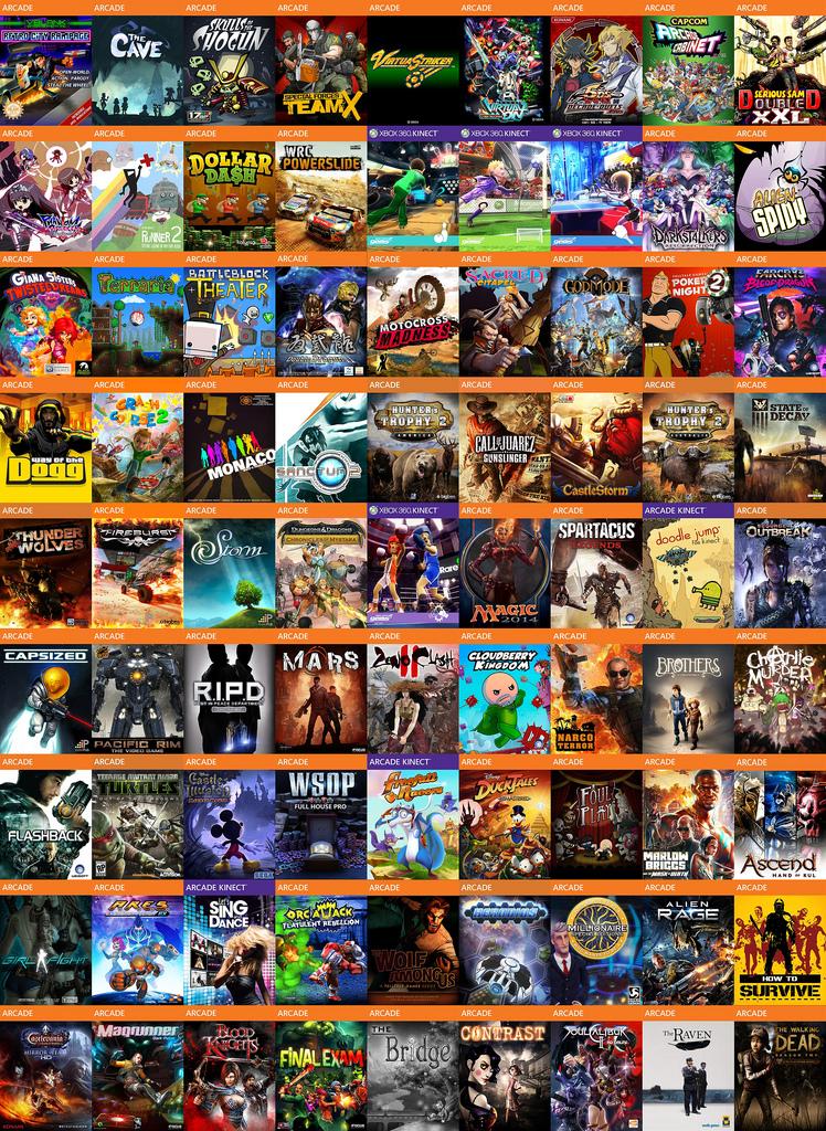Gamezware: Pack 624 juegos XBLA 1 link