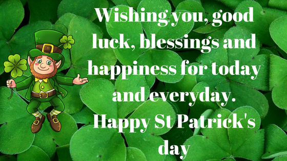 St Patricks day 2018 birthday wishes