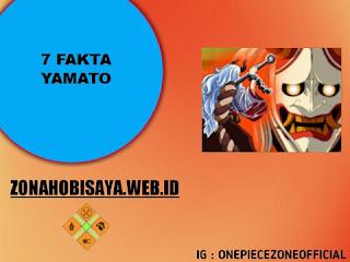 7 Fakta Yamato One Piece, sosok Anak Perempuan Kaido
