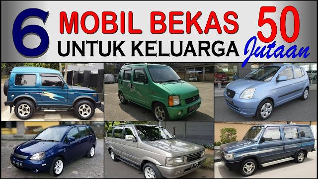 Macam - Macam Mobil Bekas Harga Murah Rp.50 - 60 jutaan