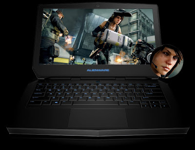 Laptop Dell Alienware Premium 13 inch Full HD Display