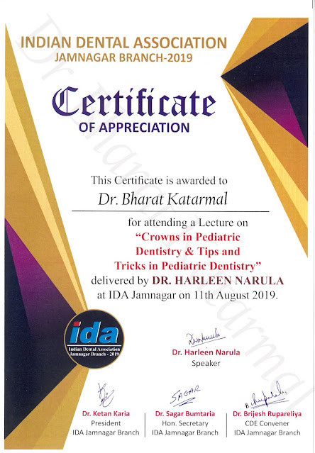 Crowns in Pediatric Dentistry and Tips and Tricks in Pediatric Dentistry By Dr. Harleen Narula