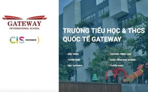 """Sau khi dư luận lắng xuống trường Gateway lại xưng danh """"quốc tế"""""""