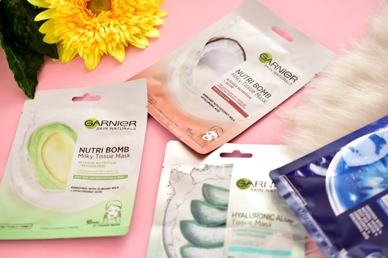 Garnier Nutri Bomb Milky Tissue Mask