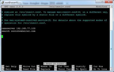 Belajar Membuat DNS Server pada Ubuntu Server 18.04