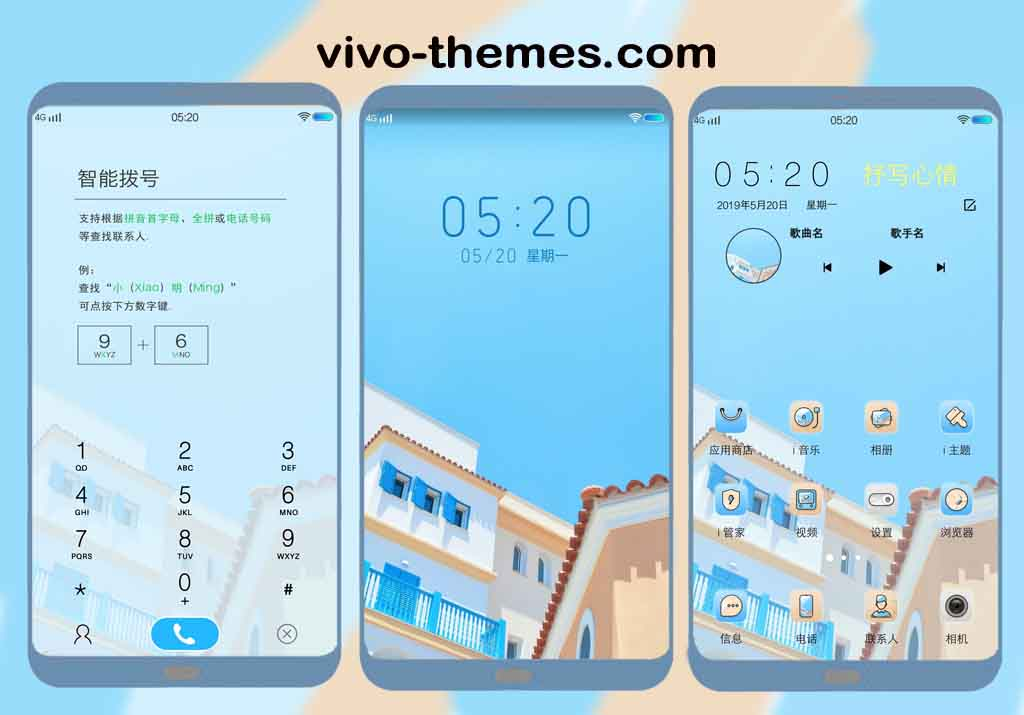 a Lot of Fun Theme for Vivo Android Smartphone
