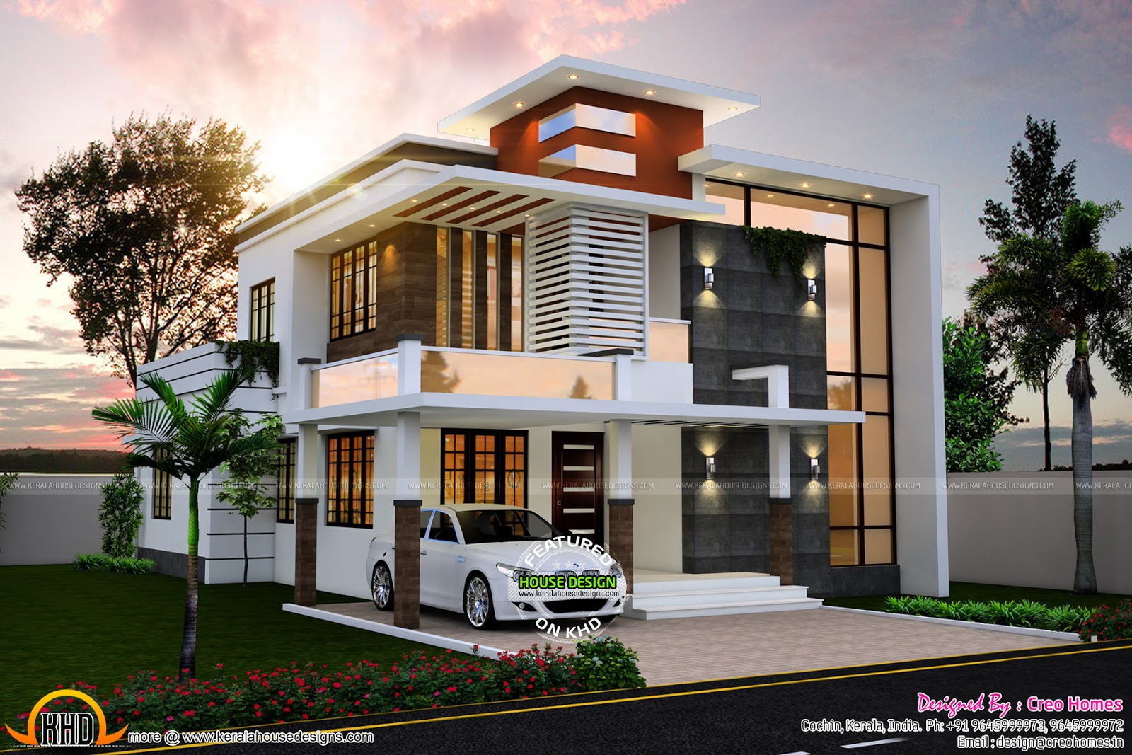 June 2015 kerala home design and floor plans for Mordern house