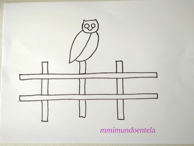 dibujo de búho