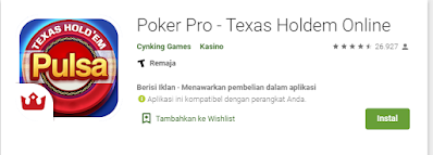 Review Poker Pro - Texas Holdem Online Terbaru