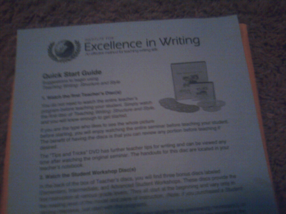 Institute of excellence in writing reviews