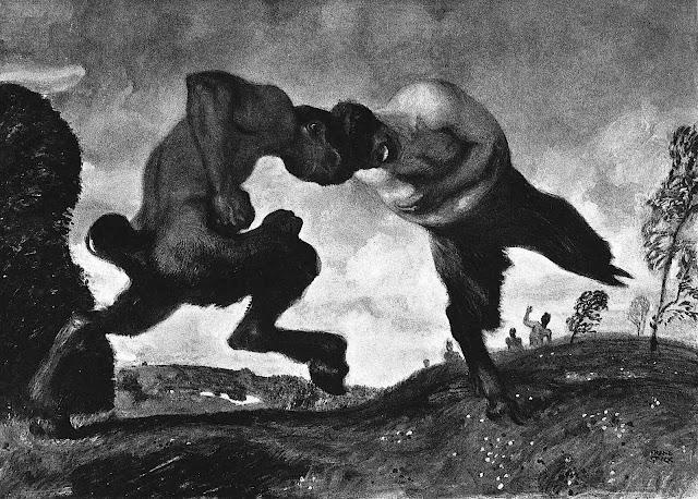 Franz von Stuck 1909? fighting myths