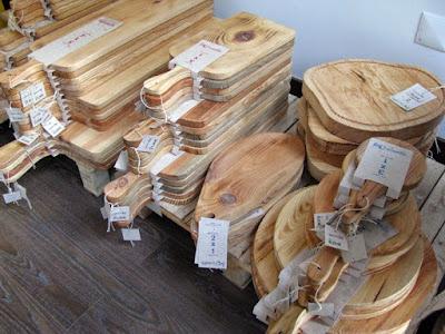 Tábuas de cozinhas de vários tamanhos e formatos