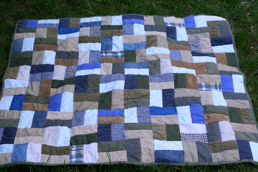 Bottoms Up(cycle) Quilt