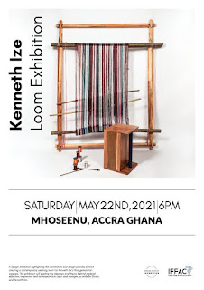 Kenneth Ize & nmbello Studio Partners African Fashion Foundation for Kenneth Ize Loom Exhibition in Accra