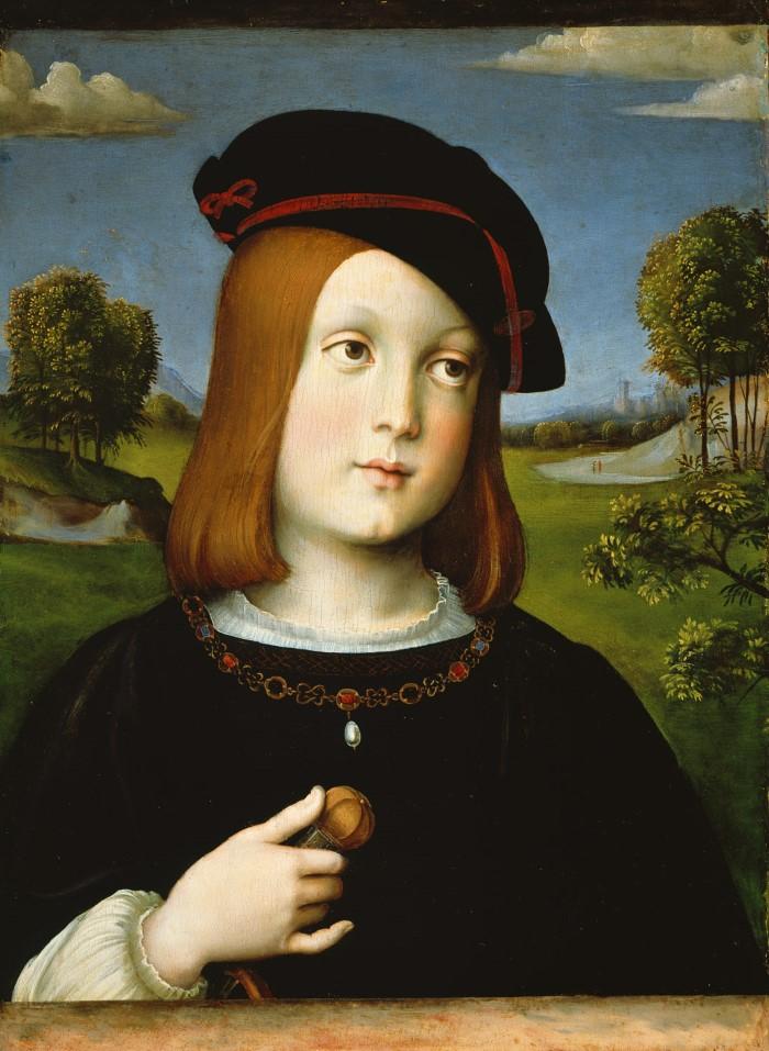 Федерико Гонзага (1500–1540). Художник - Франческо Франсия
