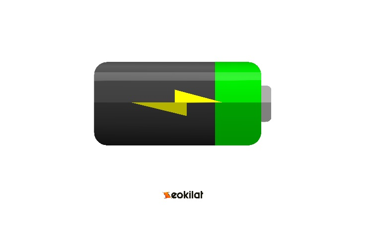 Flat Icon Battery PNG