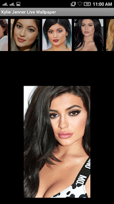 Kylie Jenner 3D live Wallpaper For Android Mobile Phone