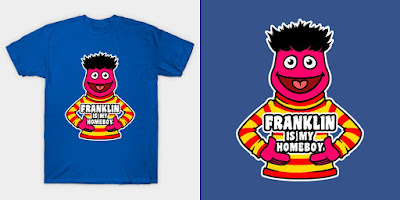 "Sesame Street ""Franklin is my Homeboy"" T-Shirt by Blair J. Campbell"