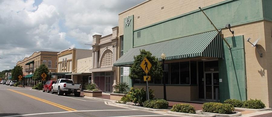 Main Street en Wauchula