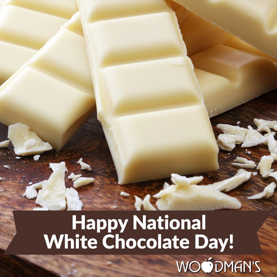 National White Chocolate Day Wishes Unique Image