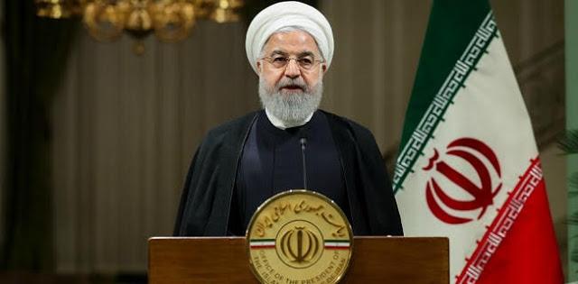 Kecam Tindakan Militer AS Di Perairannya, Presiden Rouhani: Ini Teluk Persia, Bukan Teluk New York Atau Teluk Washington