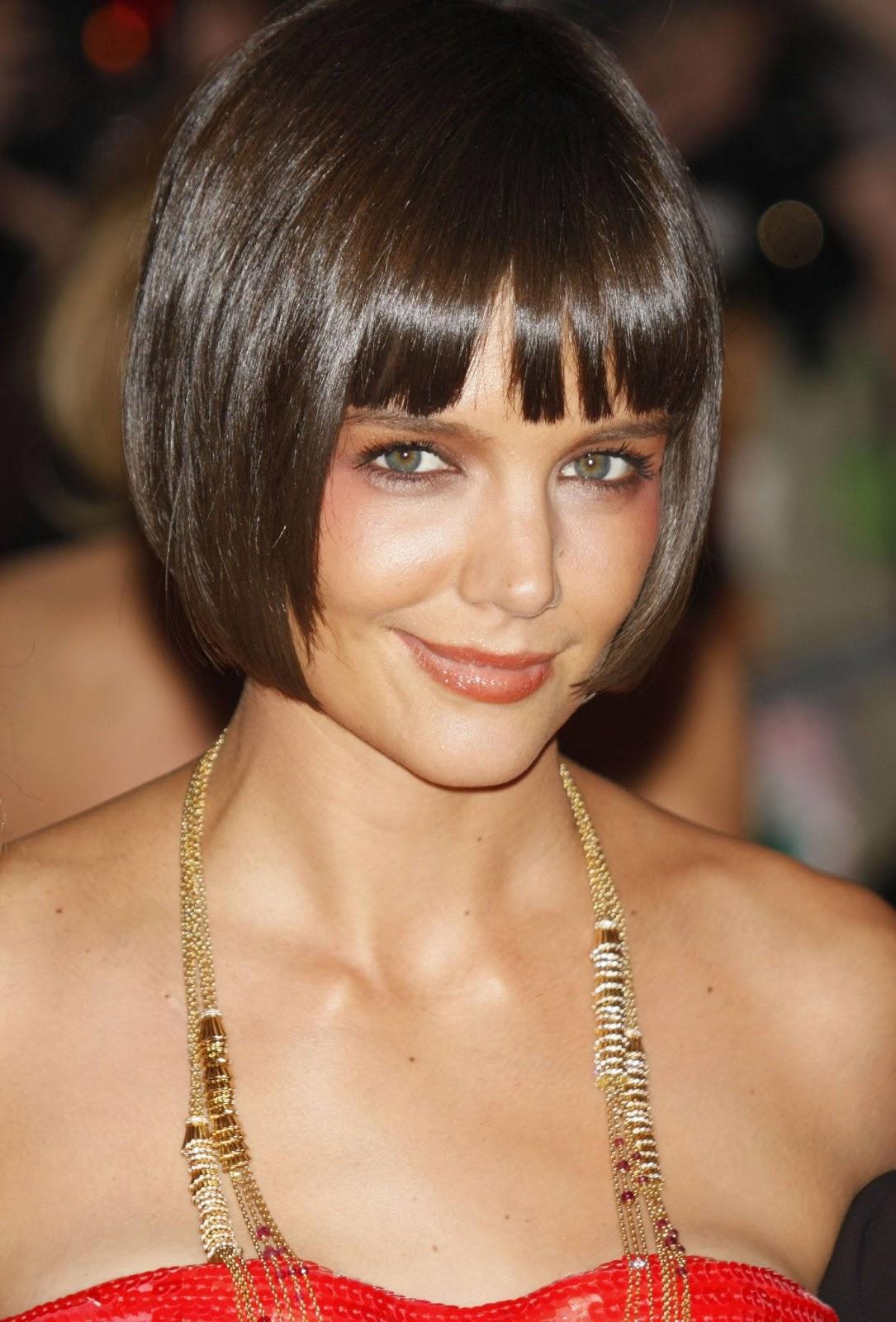 Celebrity Hairstyle Haircut Ideas: Katie Holmes Haircut