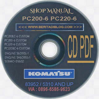 Shop Manual pc200-6 pc200lc-6 pc220-6 pc220lc-6 custom