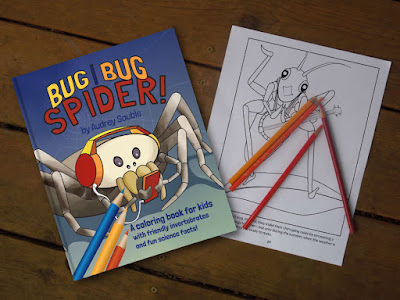 A bug coloring book for kids