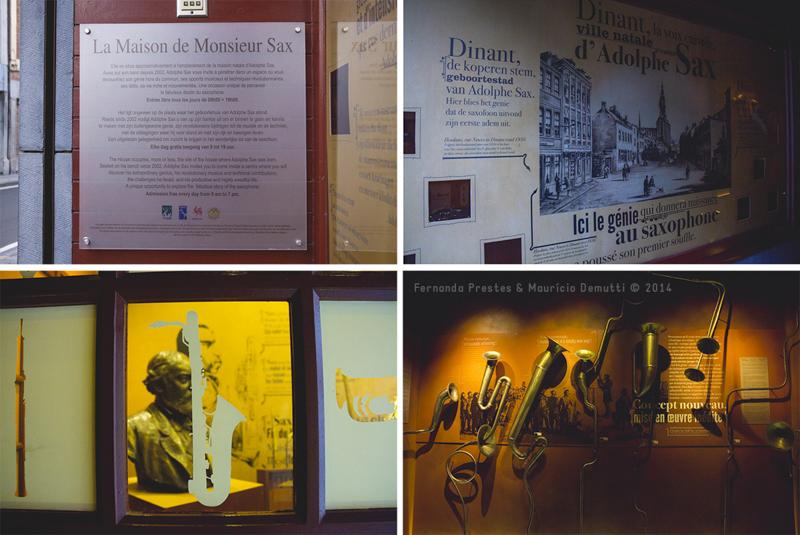 Museu do saxofone em Dinant
