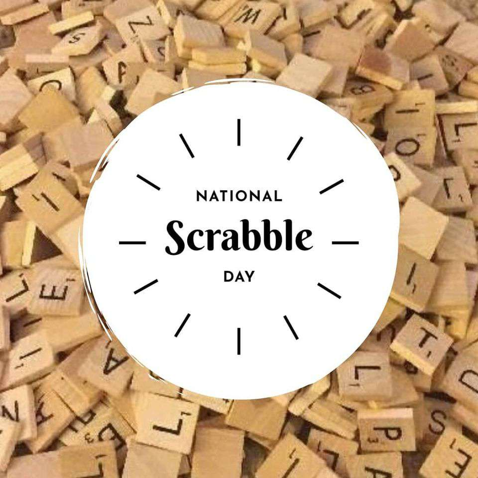 National Scrabble Day Wishes Awesome Picture