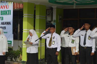 Kemenag Tanjungbalai Peringati HAB Kemenag Ke 73