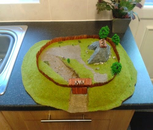 Making Gallic/Celtic Hill Fort One Pictures 1