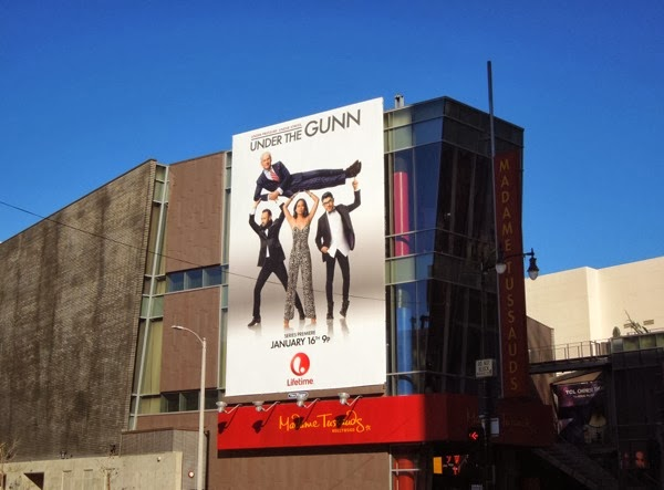 Under the Gunn Lifetime billboard